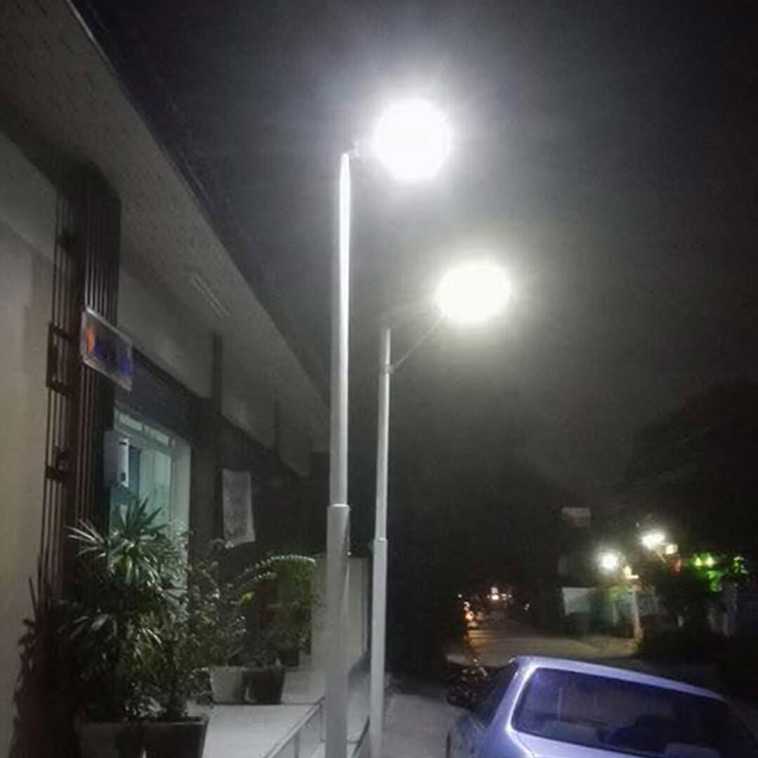 2cay solar integrated streetlights m30w